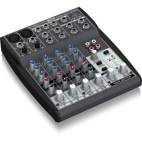 Mesa De Som Behringer Xenyx 802 Mixer Com Phantom