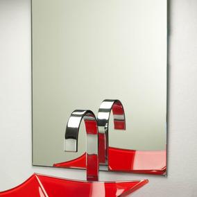 Espelho 50 X 80 Cm C/ Prateleira Vidro 50 X 10 Cm