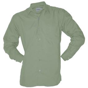 Camisa De Vestir Aristos Planchado Fácil Menta 37 A 46