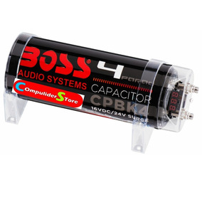 Capacitor Boss 4 Faradios Potencia 5000w Local Belgrano R
