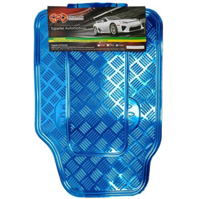 Tapete Automotivo Aluminio Jg 5 Pçs Cores Prom.imperdivel