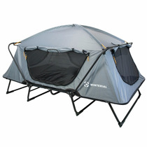 Casa Campaña Con Base Winterial Elevada Camping Carpa Tienda