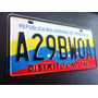 Copia De Placa Estampada Reflectiva Con Relieve (muestra)