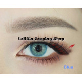 Lente De Contato Azul Natural Bts Cosplay Circle Lens + Case