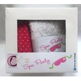 Set De Spa Para Nenas Super Completo Souvenir Personalizado