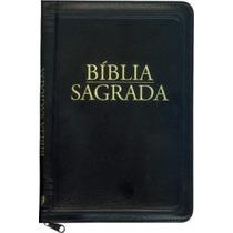Bíblia Sagrada Católica Média Com Zíper Na Linguagem De Hoje