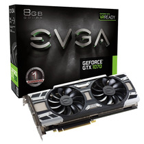 Pl. Vídeo Vga Evga Geforce Gtx 1070 Gaming 3.0 8gb Ddr5 256