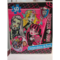 Rompecabezas De Pared Monster High Envio Gratis Por D H L