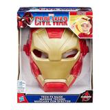 Mascara Electronica Iron Man Civil War Luces Y Sonidos