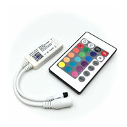 Controlador Tira Led Rgbw Wifi iPhone Android Con Remoto @tl