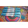 12 Kit Régua+lápis Personalizado,lembrancinhas Frozen E Outr