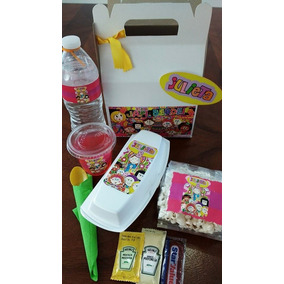 Box Lunch Infantil Para Fiestas !!!