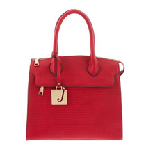 Bolsa Mujer Estilo Casual Elegante Diseño Roja Jennyfer