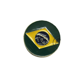 Dobrão Berimbau Bandeira Brasil - Rabo De Arraia