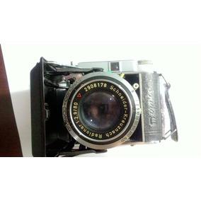 Maquina Fotográfica Antiga, Alemã Em Perfeito Estado + Filme