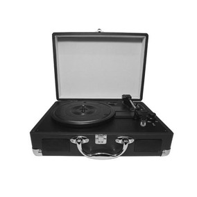 Toca Discos Vitrola Vinil C/ Alto-falantes Embutidos