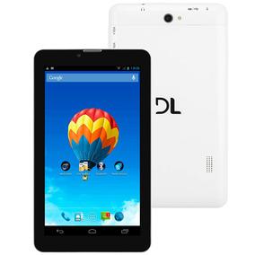 Tablet Dl Com Função Celular Tx254bra - Tela 7 - Branco