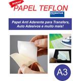 Papel Teflon - Papel Release Anti Aderente - A3 500 Folhas