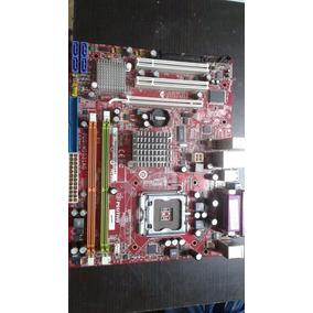Placa Mãe Pos-mig31ag - N1996 Com Processador + Cooler