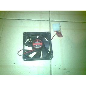 Fan Cooler Ventilador 8x8cm Computadora Pc 4pines12v 0.17 A