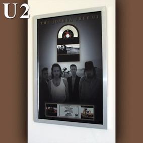 Cuadro U2 The Joshua Tree Disco De Platino