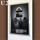 Cuadro U2 The Joshua Tree Cd Estilo Platino
