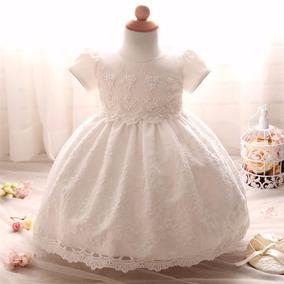 Vestido Blanco Ivory Boda Bautizo Cumpleaños Envio Gratis