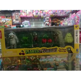 6 Figuras Plantas Vs Zombies Set De Colección Envío Gratis