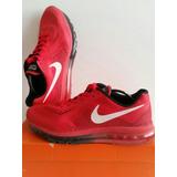 Nike Air Max 2014 Roja Usada. Talle Br42 Us10 Uk9 Eur44 Cm28
