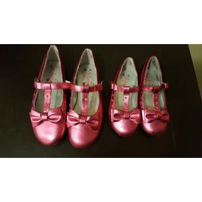 Zapato Niña Princesas Disney Rosa Hermanitas Moda