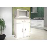 Balcão 2 Portas Branco Multiuso Cozinha E Lavanderia Lindo