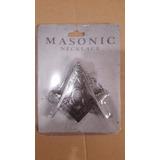 Mini Daga Oculta En Dije Masonico Con G Compas Y Escuadra