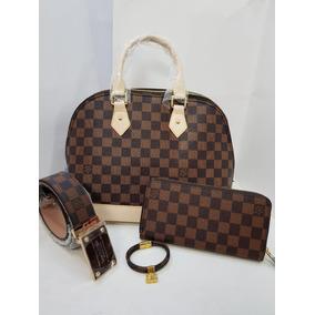 052de9dc4 Cartera Louis Vuitton Domino - Bolsas y Carteras Blanco en Mercado ...
