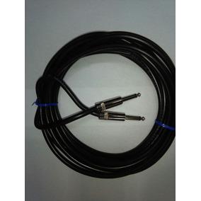 Cable Plug Plug Sonido Bafle Parlante 5 Mts Musicapilar