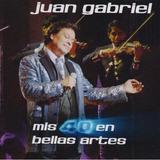Mis 40 En Bellas Artes - Juan Gabriel - 2 Discos Cd - Nuevo