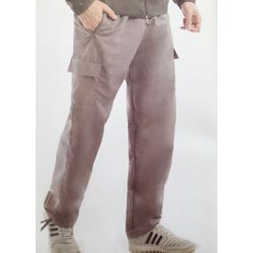 Pantalon De Hombre Con Bolsillos Microfibra De Montaña
