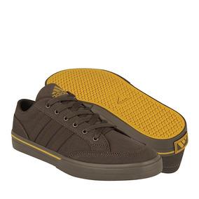 Tenis Casuales adidas Para Hombre Textil Café Af5955
