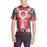 Maravíllese De Deadpool Hombres Realmente Piscina Sub Camis