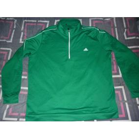 L Buzo Golf adidas Climacool Verde Art 66875