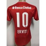 Camiseta Independiente De Avellaneda Titular 2017 Erviti 10
