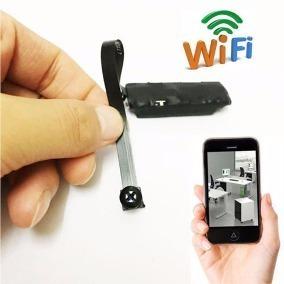 Micro Camera Hd Espiã Wireless Ip Wifi Ao Vivo Com Celular