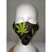 Máscara Lavável 2 Camadas Com Forro 100% Algodão  Kit Com 03