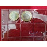 Micas Para Tazos O Monedas Y Pestaña Seguridad Numismática