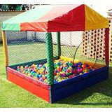 Piscina De Bolinhas Playground Infantil Bebe Frete Gratis