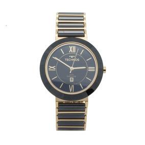 Relógio De Pulso Technos Feminino Cerâmica 2015bv 4p - Preto. R  806 1f0669f499