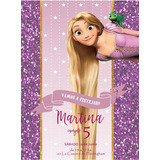 Tarjetas, Invitaciones, Banderines, Candy Bar Rapunzel