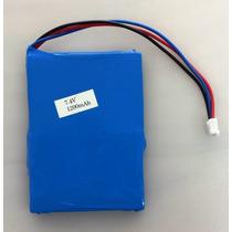 Bateria 7.4v 1200mah Para Dvd Portatil Mondial D08 D12