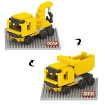 Camion Para Construcción 2 En 1 Miniblocks