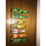 Lote De 7 Destapadores De Cervezas En Forma De Botella