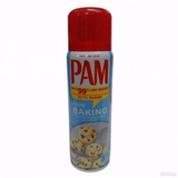 Pam Oleo Spray Untar Forma C/ Farinha De Trigo Bolo Cupcakes